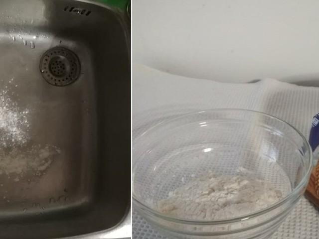 Conoscete il trucco della farina nel lavandino? Chi lo ha provato non può farne più a meno.