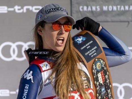 Sofia Goggia vince ancora a Crans Montana: 100esimo trionfo azzurro in Coppa del Mondo