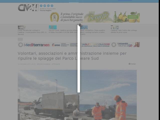 Volontari, associazioni e amministrazione insieme per ripulire le spiagge del Parco Lineare Sud