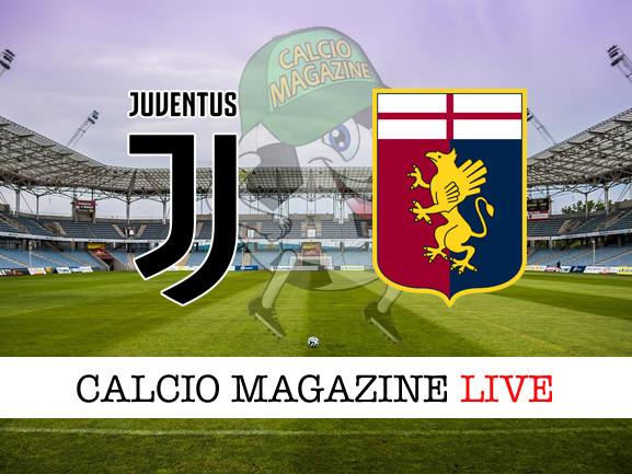 Juventus – Genoa: cronaca diretta live, risultato in tempo reale