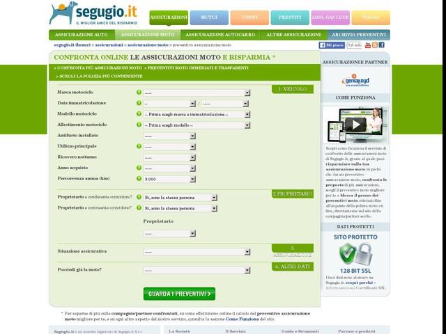 Preventivo assicurazione moto: calcola il tuo preventivo online   Segugio.it