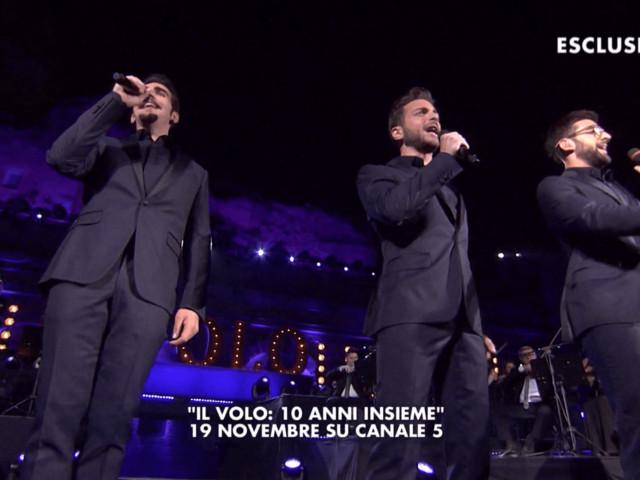 Il Volo, l'evento speciale su Canale 5 per festeggiare i 10 anni di carriera