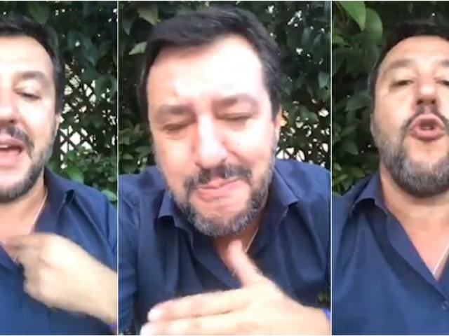 """Moto d'acqua, Salvini: """"Lasciate in pace i poliziotti, è colpa mia"""". E punzecchia Conte"""