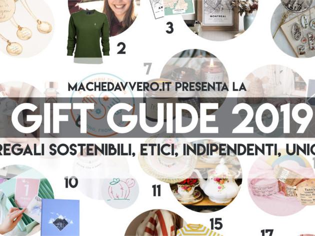 Gift Guide 2019: artigianali, ecosostenibili, meravigliosi. I regali da fare ORA. (con un sacco di CODICI SCONTO esclusivi)