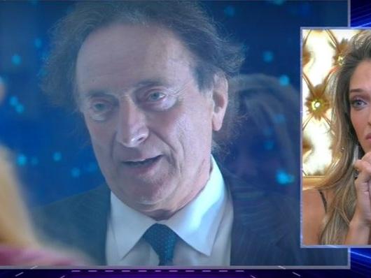 """Amedeo Goria al GF Vip: """"Chiedo scusa, mia figlia Guenda non è bipolare"""""""
