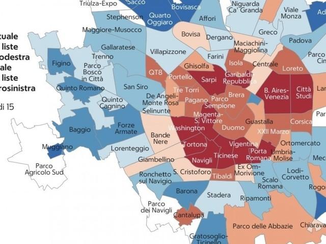 Le geometrie variabili del voto nella Milano degli 88 mini-quartieri