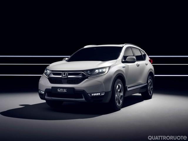 Honda - La CR-V europea e le altre novità per Ginevra