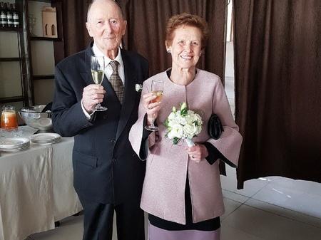 Ventimiglia: grande festa a Latte per 60 anni di matrimonio di Nella Piombo e Giancarlo Orengo