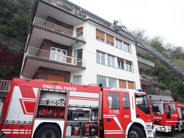 Rogo in un appartamento a Como: morti 3 bambini e il padre