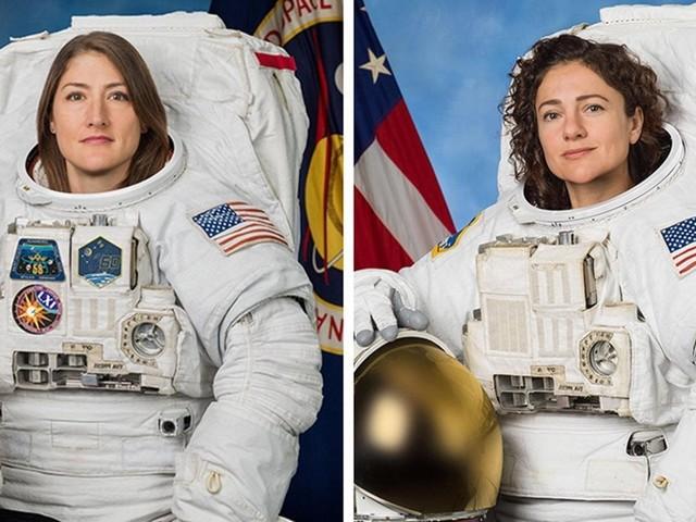Prima passeggiata 'al femminile' per le due astronaute della Iss