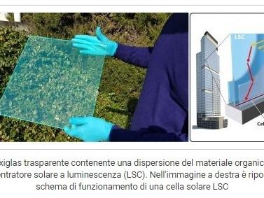 Dalla ricerca italiana nasce il nuovo fotovoltaico trasparente, integrato negli edifici