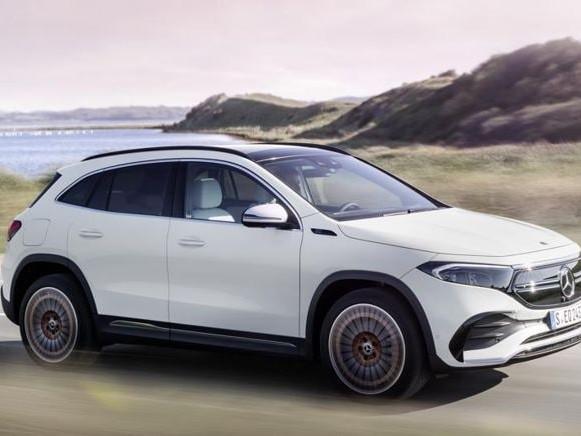 Mercedes EQA, com'è fatto il nuovo crossover elettrico