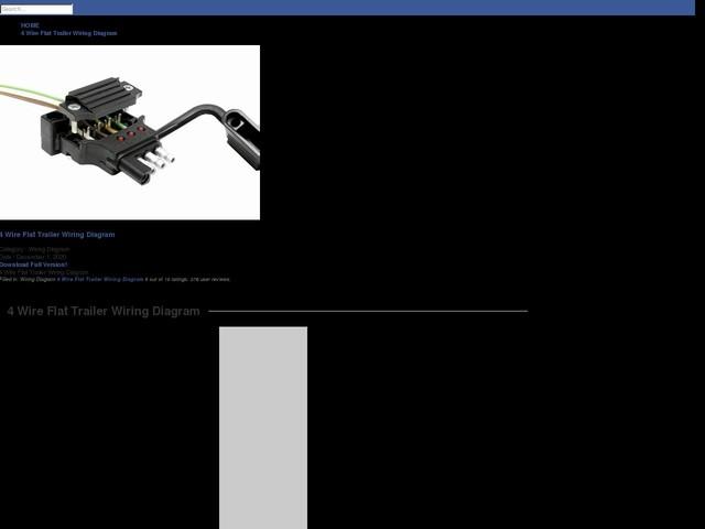 Wire Flat Trailer Wiring Diagram