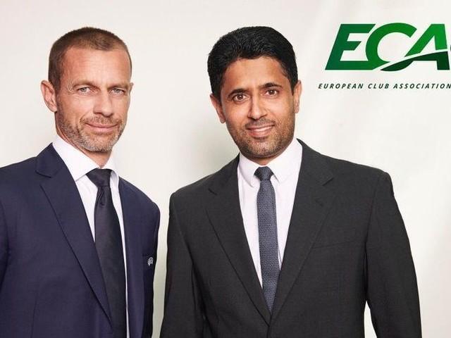"""""""Proteggiamo il calcio europeo"""": il nuovo patto tra Ceferin e Al-Khelaifi"""