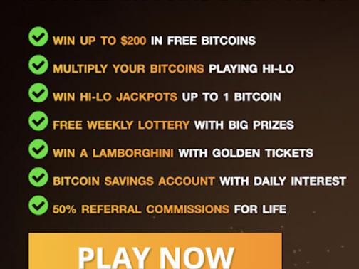Come avere Bitcoin Gratis