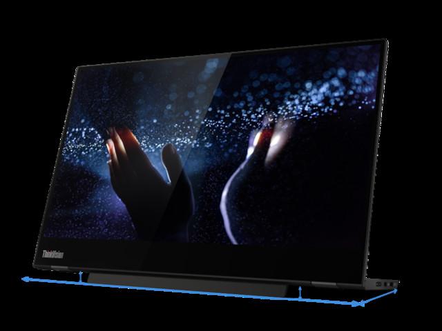 Il monitor portatile Lenovo ThinkVision M14t trasforma l'esperienza di lavoro agile