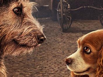 Lilli e il Vagabondo – Il poster ripropone una scena iconica