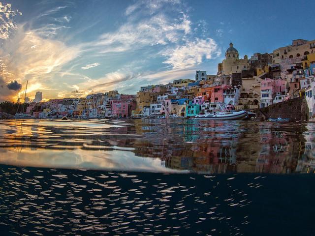 Le immagini di Procida, capitale italiana della cultura per il 2022