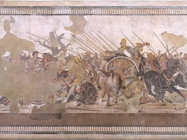 Il restauro del mosaico della battaglia di Isso permetterà di scoprire qualcosa di Pompei