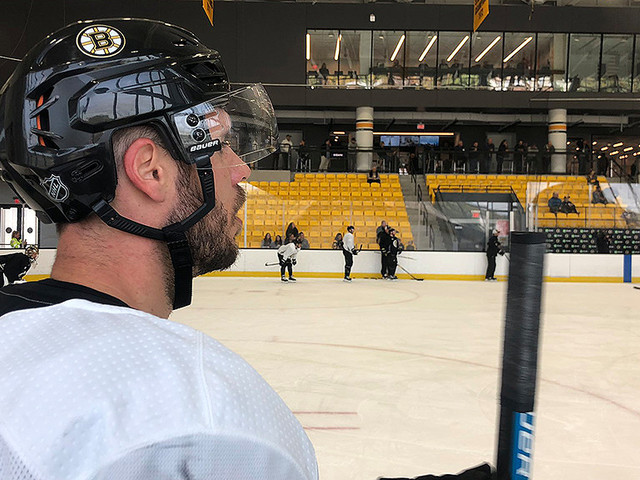 David Krejci Dealing With Upper-Body Injury, Considered Day-To-Day