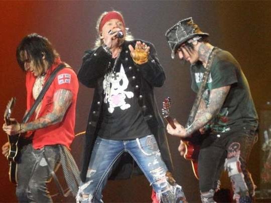Ghiaccio Bollente – Guns N' Roses: Appetite For Democracy