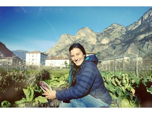 Non solo vini: per Myrtha Zierock la passione è l'orto
