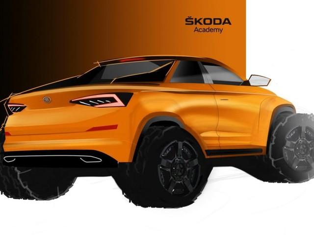 Skoda Kodiaq: la versione Pick-up ad opera della Skoda Academy
