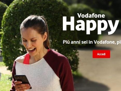 Data scadenza punti Vodafone Happy: lista premi per sorrisi aggiornata a dicembre 2017