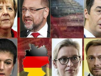 Vince la Merkel, volano i populisti e crolla Spd