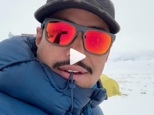 Shisha Pangma. Nirmal Purja al Campo Base. Guarda il video
