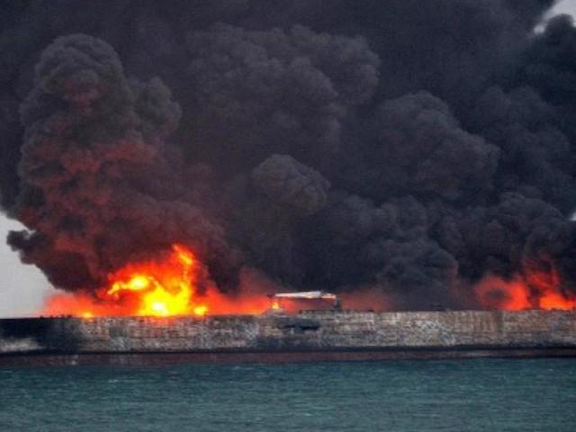 Cina, petroliera iraniana Sanchi affonda con 136mila tonnellate di greggio