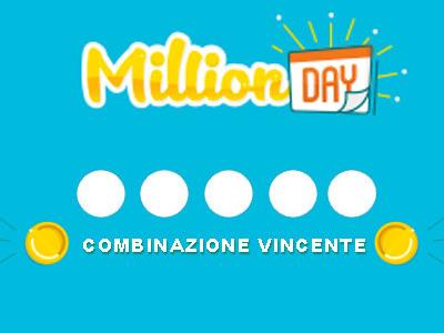 Estrazione Million Day sabato 2 marzo 2019: schedina vincente