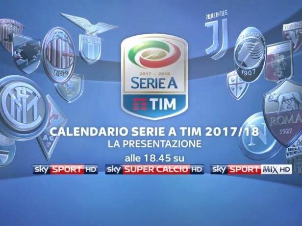 Calendario Serie A, il sorteggio su Sky alle 18.45