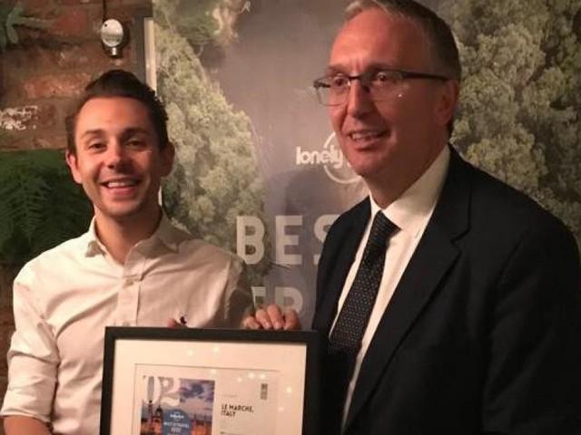 Marche seconda regione più bella del mondo: Ceriscioli ritira il premio a Londra