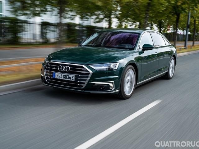 Audi - Al volante delle nuove ibride plug-in