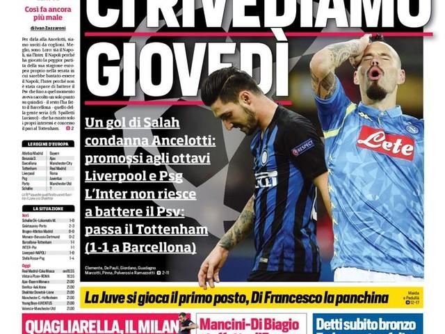 Corriere dello Sport – Ci rivediamo giovedì