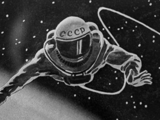 L'ultima passeggiata di Leonov tra le stelle