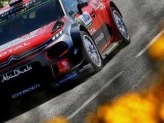 WRC 2017, Rally Finlandia, Shakedown: Meeke e la Citroen C3 sono in testa