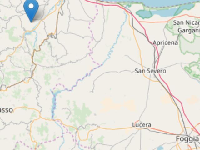 Terremoto di magnitudo 5,2 in Molise: a pochi chilometri dalla Puglia Scossa alle 20,19 con epicentro a Montecilfone