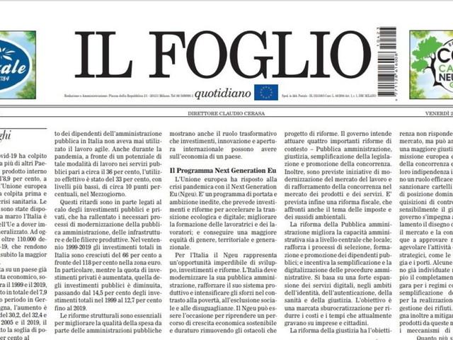 """Mario Draghi presenta il Pnrr al Parlamento: """"E' un'occasione imperdibile, ecco perché"""""""