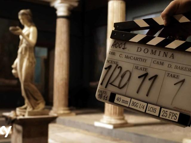 Domina: al via le riprese della la nuova serie Sky Original con Kasia Smutniak