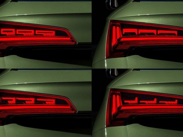 Audi porta l'illuminazione ad un livello superiore con i nuovi gruppi ottici OLED
