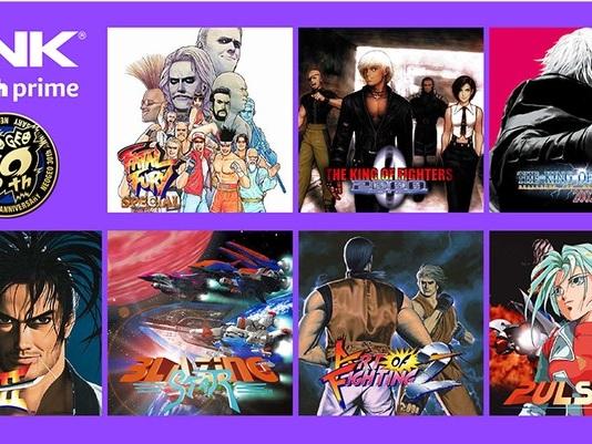 Twitch Amazon Prime, 22 giochi SNK Neo Geo inclusi nell'abbonamento