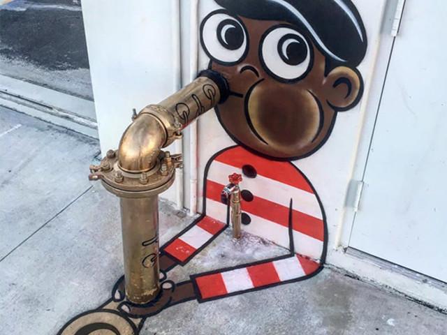 L'artista di strada Tom Bob sta trasformando New York in un cartone animato
