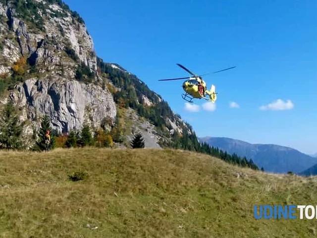 Padre e figlio di 9 anni dispersi sul Cuarnan, recuperati dal soccorso alpino in serata