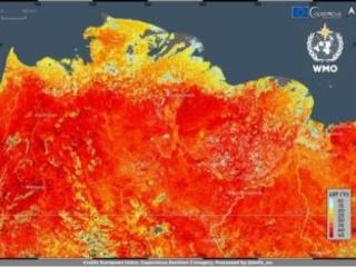 Forti preoccupazioni per il nuovo record della temperatura di 38° C in Siberia
