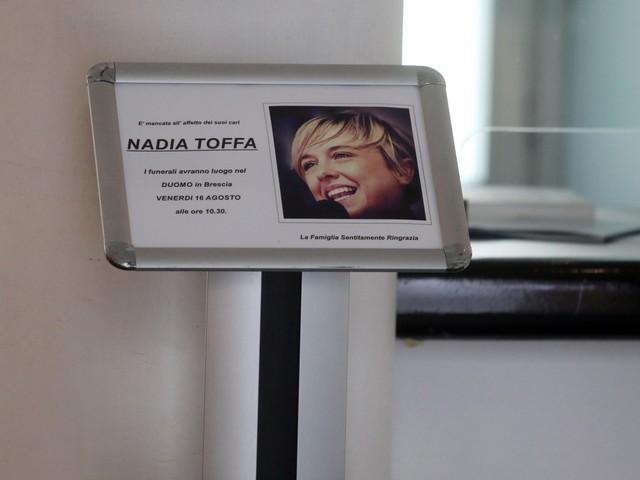 L'ultimo saluto a Nadia Toffa