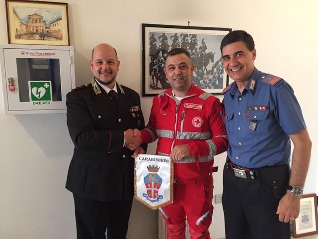 Amelia, arriva un defibrillatore nella caserma dei carabinieri: accordo con la Croce rossa
