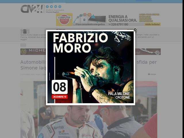 Automobilismo, Porsche Festival di Milano: nuova sfida per Simone Iaquinta