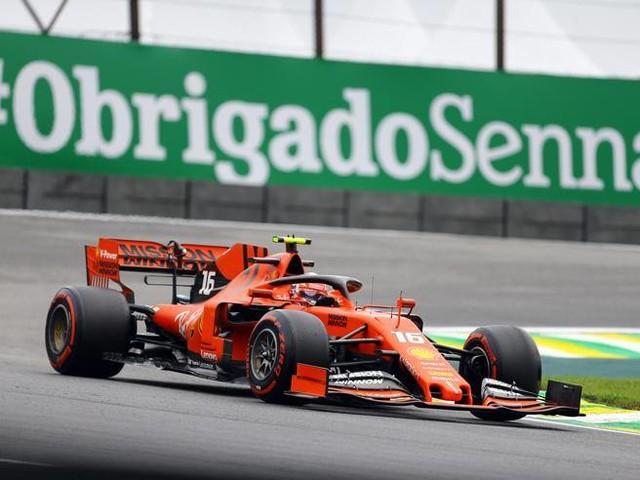 F1, Gp Brasile: Ferrari davanti nelle prove libere 2: Vettel 1°, poi Leclerc